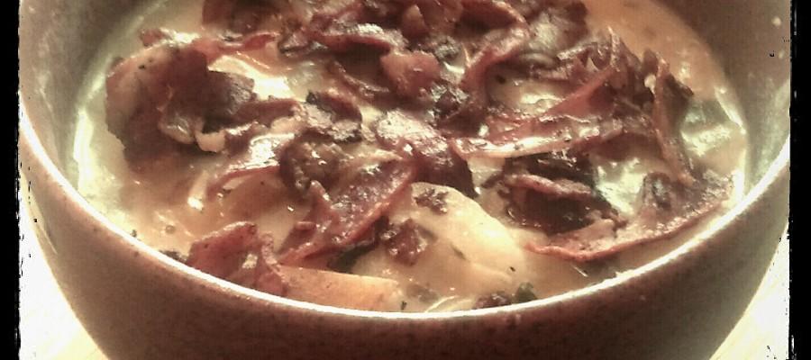 Totes Rustic Potato and Leek Soup